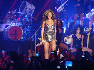 "4 Intimate Nights with Beyoncé - Although the song garnered mixed reviews from contemporary music critics, ""I Was Here""'s live performance by Beyoncé was received with positive critical reception."