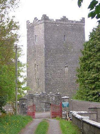 William Nugent - Ross Castle, County Meath, was William Nugent's castle on the shores of Lough Sheelin.