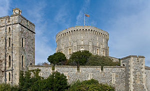 Round Tower, Windsor Castle, England - Nov 2006.jpg