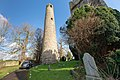 Round tower at St. Columba's Church in Swords, Dublin -148783 (46295735654).jpg
