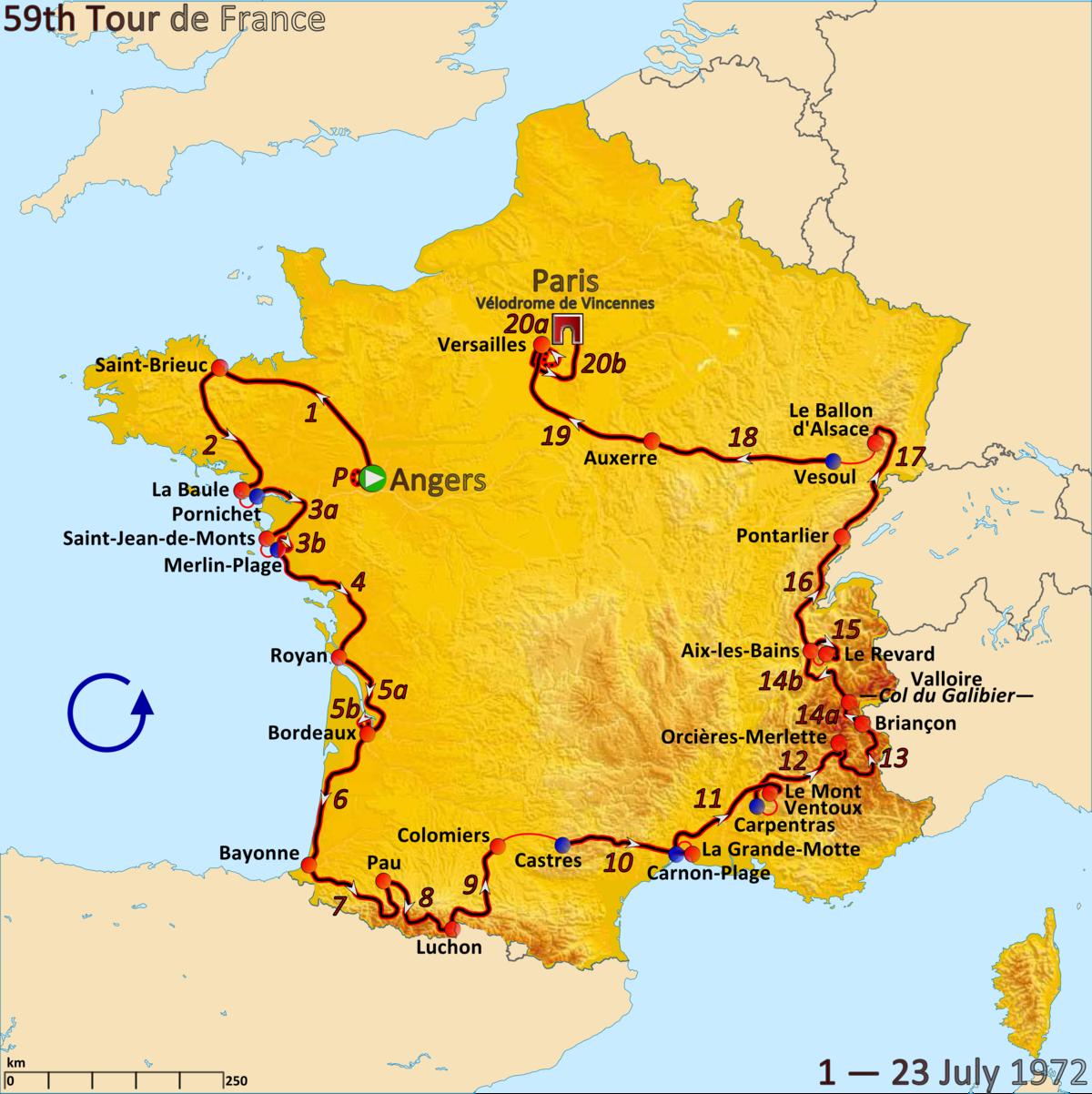 1972 Tour de France - Wikipedia