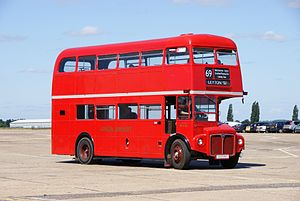 Routemaster RM158 (VLT 158), 2010 North Weald bus rally.jpg