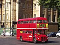 Routemaster in Hyde Park Corner on route 19.jpg