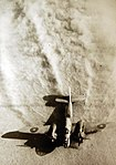 Royal Air Force Baltimore bomber taking off to attack Rommel's supply lines in the Western Desert.jpg