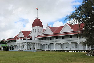 Tongatapu - Royal Palace.