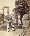 Rudra Mahalaya Hindu temple ruins at Siddhpur, Gujarat, 1872 photo.jpg