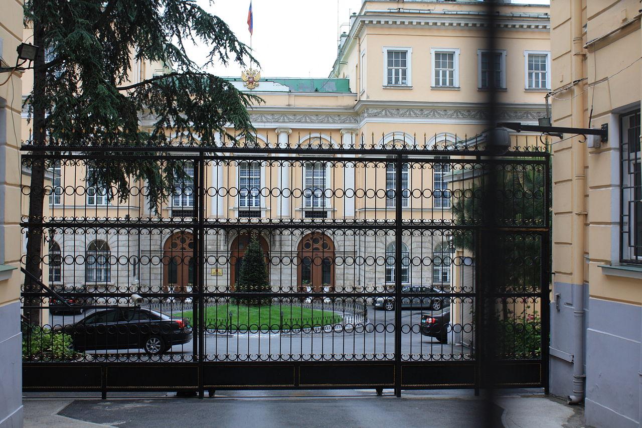 embassy in italy russian embassy