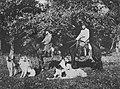 Russischer Photograph - Jagd mit Borzoj-Hunden in Pensa (Zeno Fotografie).jpg