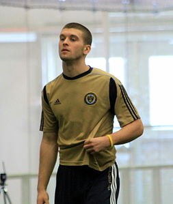 Ryan Richter at Preseason Training for the Philadelphia Union, Jan 2011.jpg