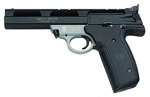 Smith & Wesson Model 22A - Image: S&W 22A