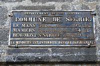 Ségrie - plaque de cocher.JPG
