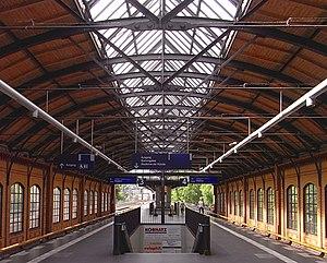 Berlin Bellevue station - Platform