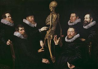 The osteology lesson of Dr. Sebastiaen Egbertsz.