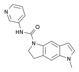 SB-206553 - Image: SB 206553 structure