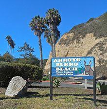 Arroyo Burro Beach Park Entrance