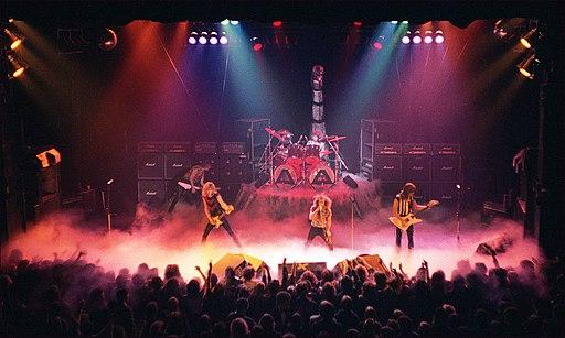 SCORPIONS - Manchester Apollo - 1980