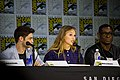 SDCC 2017 - Jeremy Jordan, Melissa Benoist and David Harewood 02.jpg