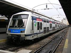 SNCF Class Z 22500 - Z 22596 at Gare de l'Est