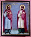 SS. Cosmas and Damian. Oil painting. Wellcome L0013786.jpg