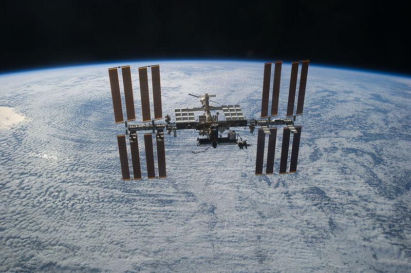 File:STS-133 International Space Station after undocking 2.jpg