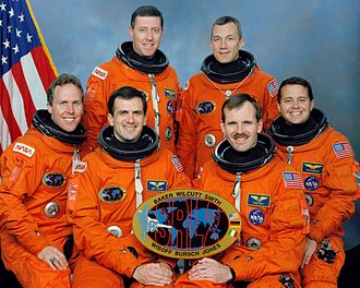 STS-68 - Image: STS 68 crew