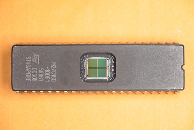 CMOS 3-STATE UV-Erasable EPROM 1Mx16 16Mbit M27C160-150F1 Details about  /IC ST