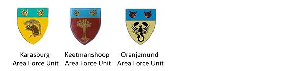 SWATF Sector 60 Area Force Units