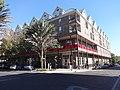 SW corner of building on SE 1st St, SE 2nd Pl, Gainesville, Florida.JPG