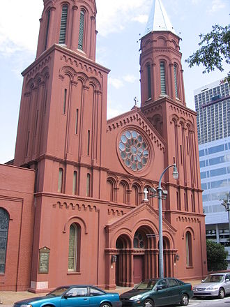 Roman Catholic Archdiocese of Atlanta - Sacred Heart, located in Peachtree Center