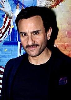 Saif Ali Khan Indian actor and producer