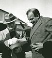 Saint-Exupéry and Marcel Peyrouton . Tunis 1935.jpg
