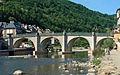 Saint-Geniez-d'Olt - Pont de Saint-Geniez vu de l'aval.jpg