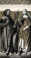 Saint James the Less and Saint Christina. Colour lithograph Wellcome V0033577.jpg
