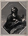 Saint John the Evangelist. Engraving by A.H. Payne after C. Wellcome V0032397.jpg