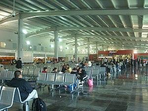 Toluca International Airport - Image: Salas de Ultima Espera