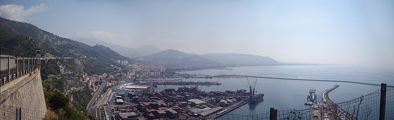 Salerno, vista panoramica