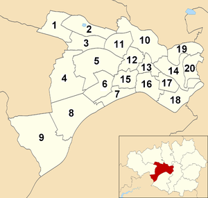 Salford City Council - Wards within Salford City Council