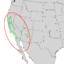 Salix laevigata range map 2.png
