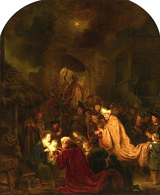 Prince William V Gallery - Image: Salomon Koninck The Adoration of the Magi 002