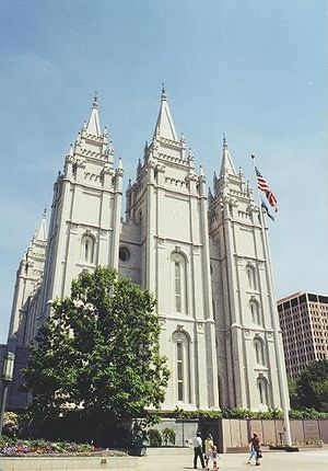 House of Joseph (LDS Church) - The Salt Lake Temple of The Church of Jesus Christ of Latter Day Saints is the largest attraction in the city's Temple Square.