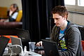 Sam - Wikimedia 2011 hackathon in Berlin 058.jpg