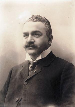 Sam Eyde - Sam Eyde photographed in 1910