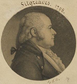 Samuel Sitgreaves - Image: Samuel Sitgreaves, 16 Mar 1764 4 Apr 1827