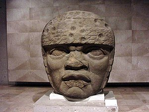 Olmec - Olmec Head No. 3 from San Lorenzo Tenochtitlan 1200–900 BCE