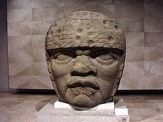Olmec - Olmec Head No. 3 from San Lorenzo Tenochtitlan 1200–900 BCE