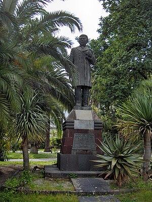 Ignacio Manuel Altamirano - Statue in San Remo, Italy