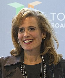 Sandra Pupatello at the Toronto Board of Trade - 2013 (8393666736) (cropped).jpg