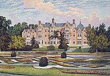 Sandringham House all'epoca in cui era la dimora preferita dei principi di Galles Edoardo e Alessandra