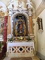 Santa Giustina e San Rocco, Saint Roch altar (Piove di Sacco).jpg