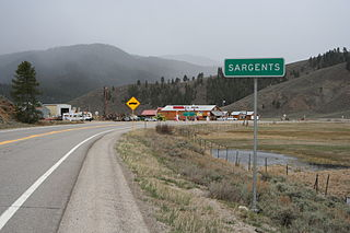 Sargents, Colorado Unincorporated community in Colorado, United States